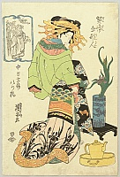 ca. 1820/30 - Keisei Gokenjin - Beauty Yatsuhashi
