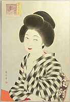 Ikuharu Watanabe 1895-1975 - Competing Beauties in the Showa Era - Early November