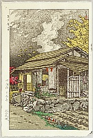 Shiro Kasamatsu 1898-1992 - House at Okutama