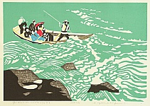 Kiyoshi Nagai 1911-1984 - Go Down the River