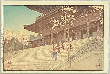 Chion-in Temple Gate - Eight Scenes of Cherry Blossoms