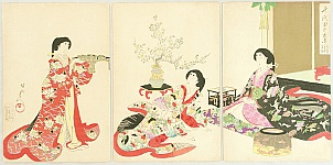 Ladies in Chiyoda Palace - New Year's Day Lunch