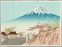 Mt. Fuji in Autumn - Tomikichiro Tokuriki 1902-1999