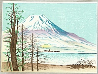 Mt. Fuji in Winter - Tomikichiro Tokuriki 1902-1999