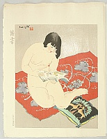 Toraji Ishikawa 1875-1964 - Ten Types of Female Nudes - Reading