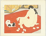 Toraji Ishikawa 1875-1964 - Ten Types of Female Nudes - Sound of a Bell