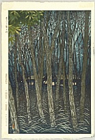 Shiro Kasamatsu 1898-1992 - Autumn in Musashino