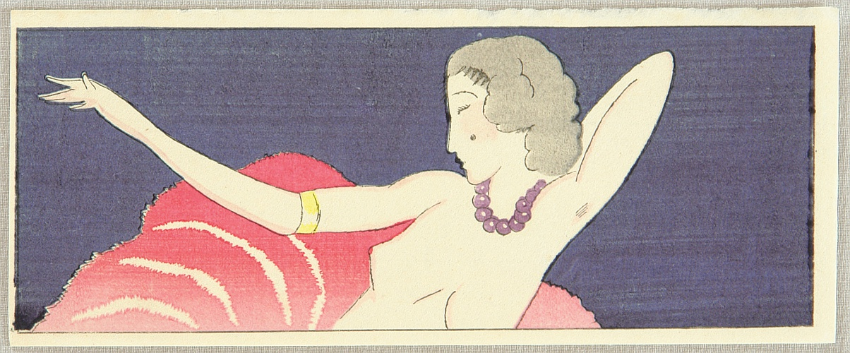 Yumeji Takehisa 1884-1934 - Dancer
