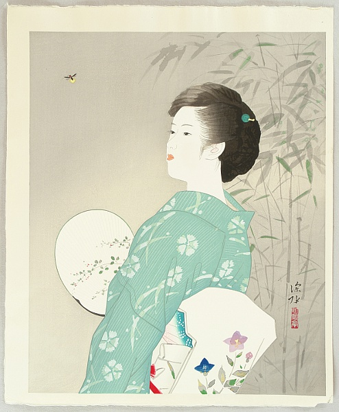 Shinsui Ito 1898-1972 - Beauty and Firefly