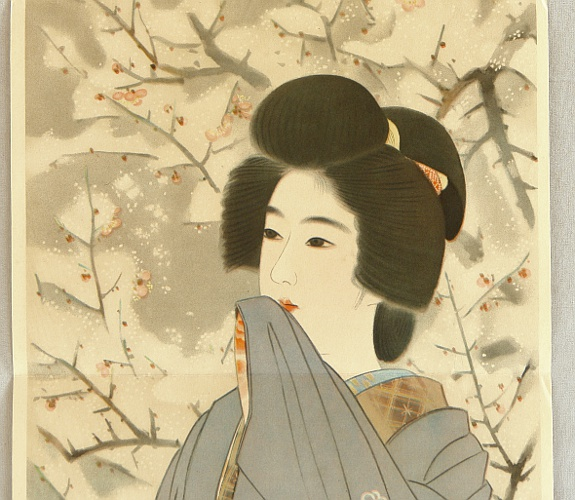 Shinsui Ito 1898-1972 - Snow Moon Flower - Snow