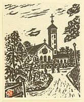 Kihei Sasajima 1906-1993 - Collection of Prints - Church