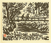Collection of Prints - Suspended Bridge