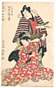Toyokuni Utagawa 1769-1825 - Kabuki Couple