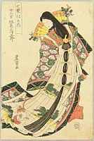 Series of Seven Changes - By Toyokuni Utagawa