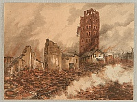 Unknown - Kanto Earthquake - Ruins of the Twelve Storied Building in Asakusa