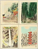 Eiichi Kotozuka 1906-1979 - Four Seasons of Nikko (Vertical Pictures)