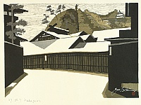 Junichiro Sekino 1914-1988 - New Tokaido Fifty-three Stations - Kakegawa