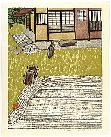 Okiie Hashimoto 1899-1993 - Garden with a Tea House