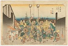 Nihonbashi - Hiroshige Ando 1797-1858