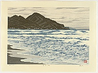 Takehisa Imai 1940 - - Itagahama Beach - High Priest Shinran