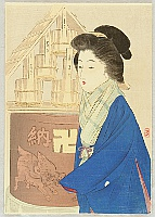 Keishu Takeuchi 1861-1942 - Winter