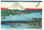 Hiroshige II Utagawa 1829-1869 - Miho-no-Matsubara