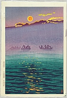 Shiro Kasamatsu 1898-1992 - Morning Waves