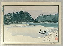 Paul Binnie born 1967 - Famous Views of Japan - Sankeien Gardens