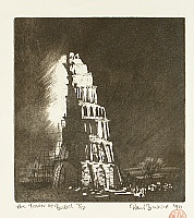 Paul Binnie born 1967 - The Tower of Babel - 2