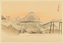 One Hundred Views of Mt. Fuji - Sake Brewer