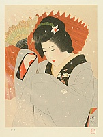 Shinsui Ito 1898-1972 - In the Snow