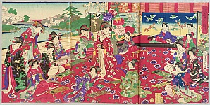 Poem Competition with Empress Meiji