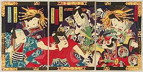 Samurai Heroes Soga Brothers - Kabuki