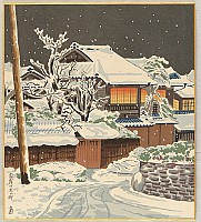 Snow Scene of Kyoto