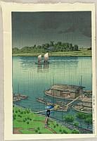 Arakawa River in May Rain