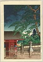 Spring Rain at Gokoku-ji Temple