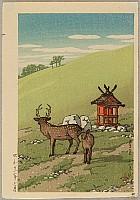 Deer and Shrine