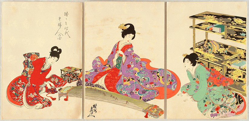 Japanese Prints and Chikanobu - II - 1299 - Japanese Prints and Chikanobu - II - 1299