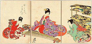 Japanese Prints and Chikanobu - II - 1299