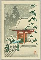 Ni-o Gate in the Snow