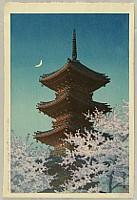 Toshogu Shrine in Spring Dusk