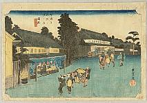 53 Stations of the Tokaido (Hoeido) - Narumi