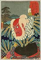 Kabuki Actor's Tokaido 53 Stations - Kanagawa
