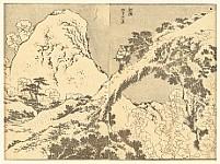 Hokusai Manga - Bridge