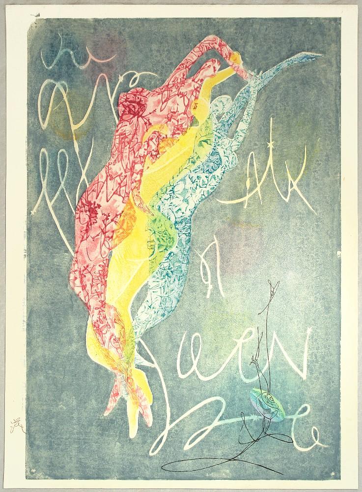 Three Beauties by Shigeru Hatsuyama 1897-1973
