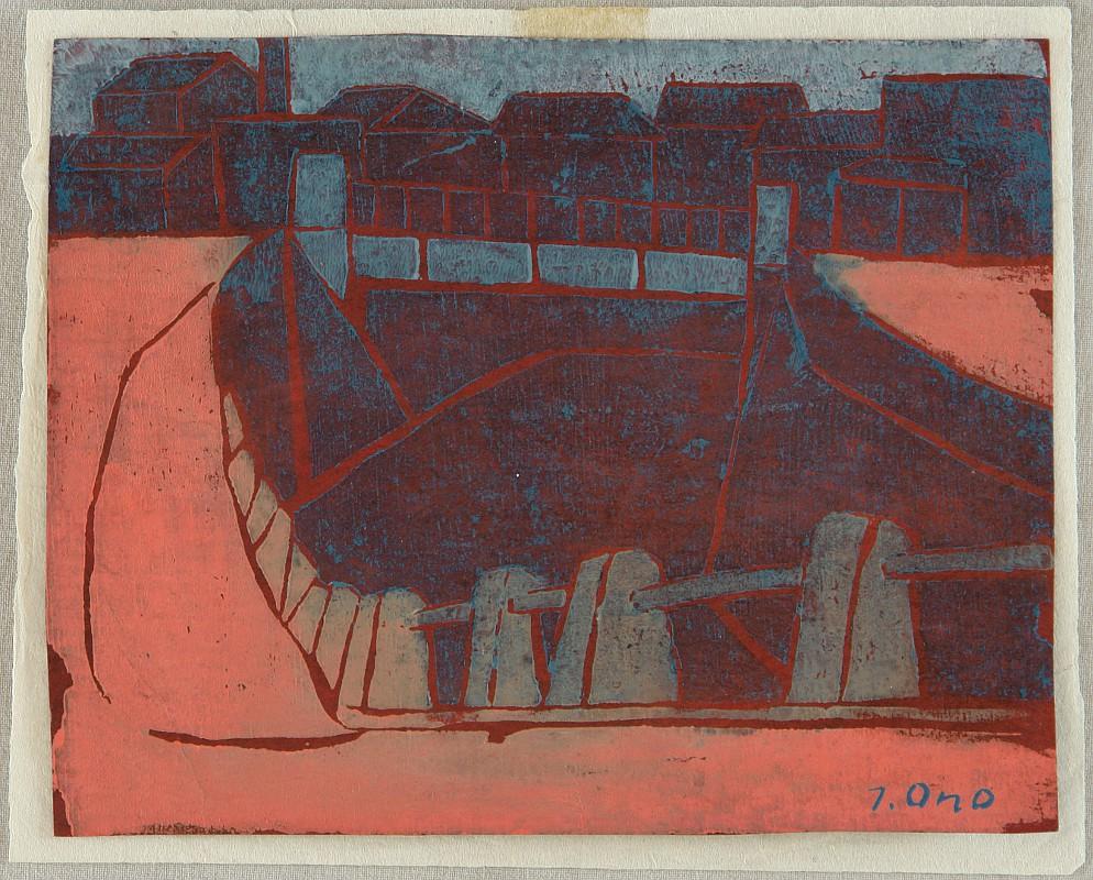 Moat - Hori by Tadashige Ono 1909-1990