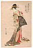 Eishi Hosoda 1756-1829 - Bijin  (Fake Print)