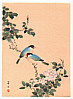 Hobun Kikuchi 1862-1918 - Two Blue Birds