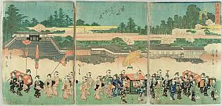 Ladies Procession to Hachiman Shrine