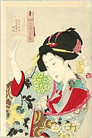 Thirty-two Aspects of Customs and Manners of Women - Fuzoku Sanju-ni So - Disagreeing